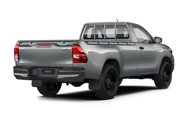 Toyota Hilux PickUp Double Cab 4wd 2.4 D-4D 4WD 150PS Active Pickup Double Cab Manual [Start Stop] back view