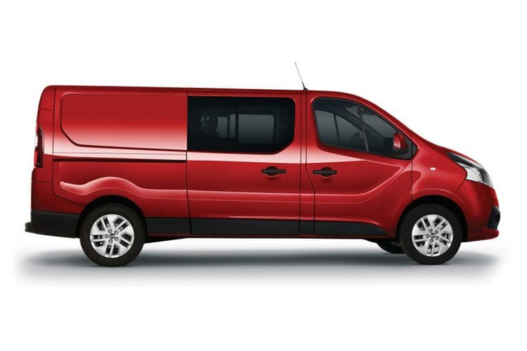 Nissan NV300 L2 30 2.0 dCi FWD 120PS Visia Crew Van Manual back view