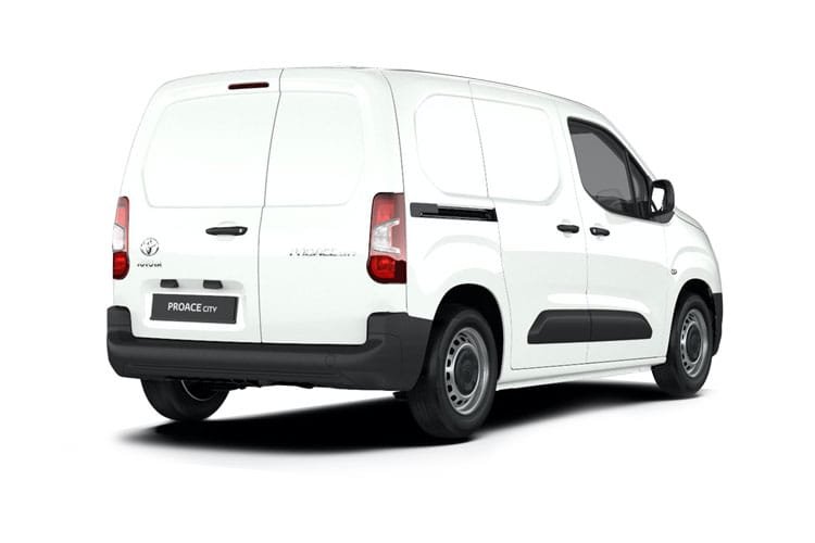 Toyota PROACE CITY Short 1.5  BlueHDi FWD 75PS Active Van Manual [Smart Cargo] back view