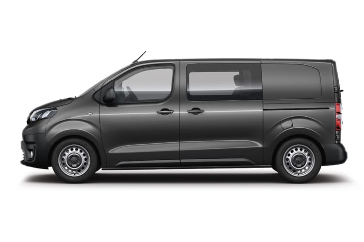 Toyota PROACE Long 2.0 D FWD 120PS Design Crew Van Manual [Start Stop] back view