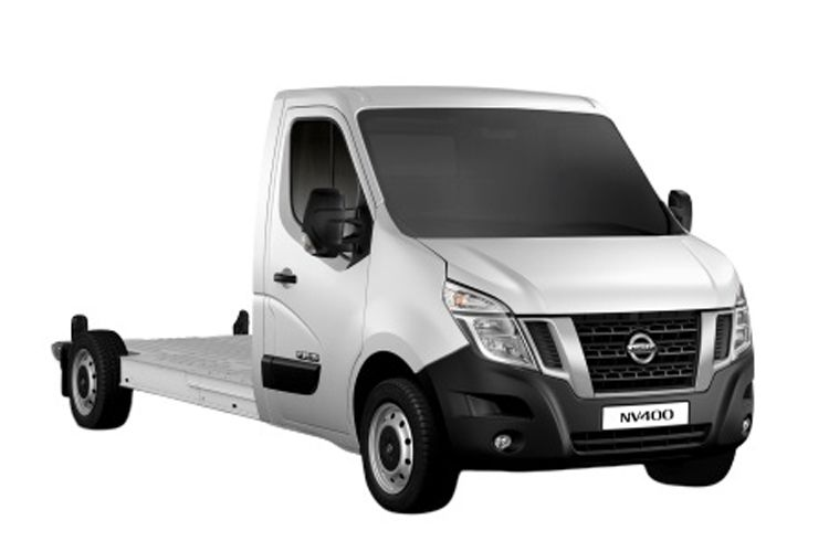 Nissan NV400 L3 35 FWD 2.3 dCi FWD 135PS Acenta Chassis Cab Manual front view