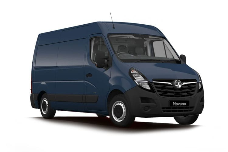 Vauxhall Movano F35 L1 2.3 CDTi BiTurbo FWD 150PS Edition Van Medium Roof Manual [Start Stop] front view