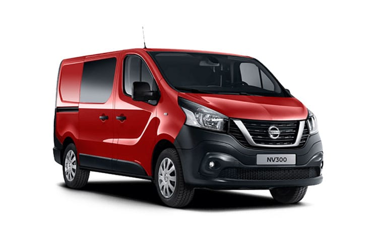 Nissan NV300 L2 30 2.0 dCi FWD 120PS Visia Crew Van Manual front view