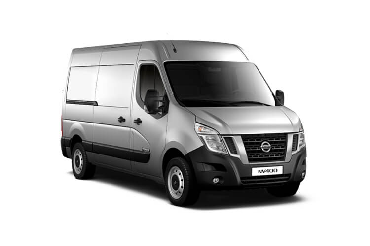 Nissan NV400 L2 35 FWD 2.3 dCi FWD 180PS Acenta Van Medium Roof Manual [Start Stop] front view