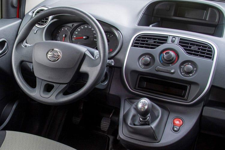 Nissan NV250 L2 1.5 dCi FWD 115PS Acenta Crew Van Manual [Start Stop] inside view