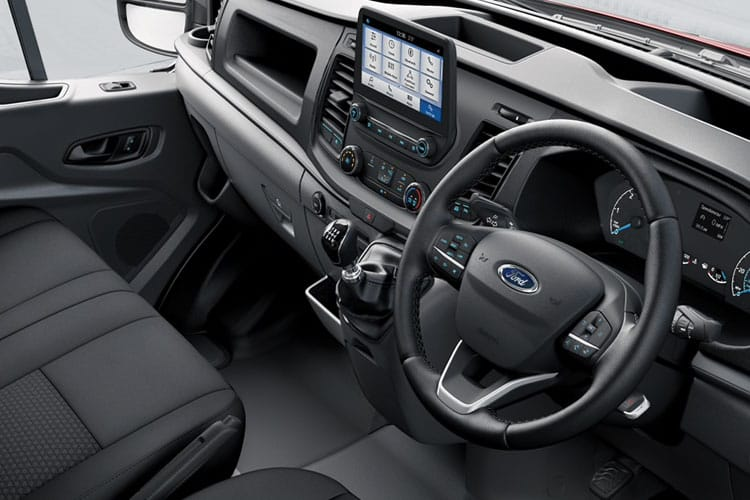 Ford Transit 330 L3 2.0 EcoBlue FWD 105PS Leader Van High Roof Manual [Start Stop] inside view